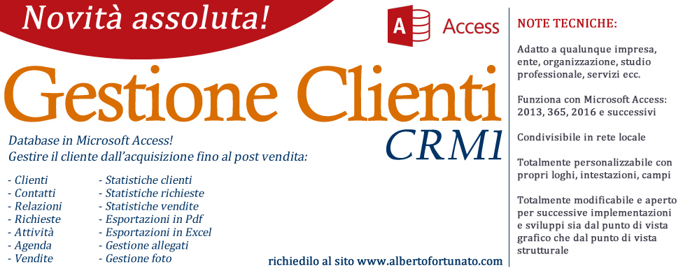 Gestione clienti CRM1