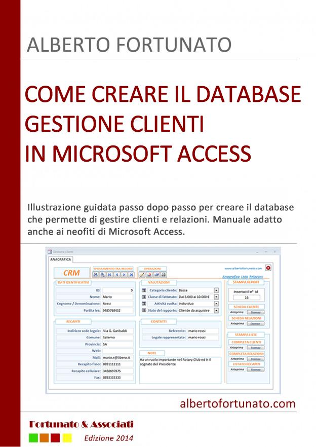 Gestione Clienti in Access