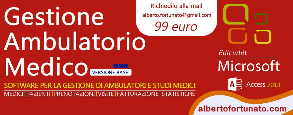 Software Gestione ambulatorio medico